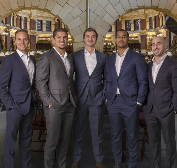 Financial All-stars Help Call the Plays off the Field