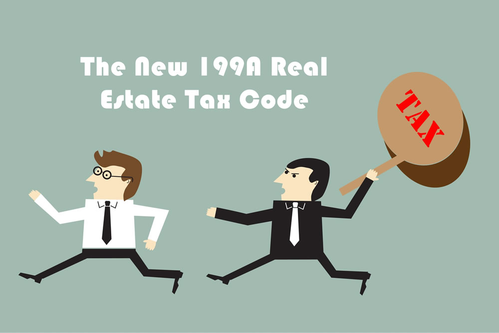 The New 199A Real Estate Tax Code