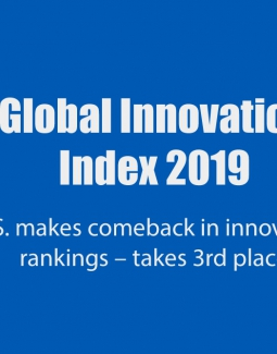 U.S. makes comeback in innovation rankings – takes 3rd place